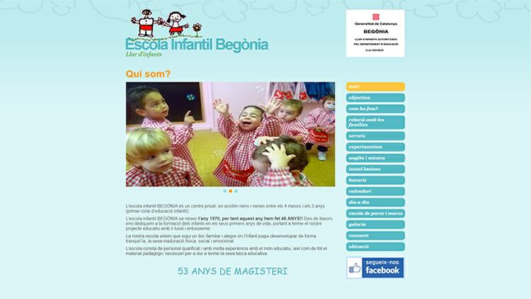 Escola infantil Begònia